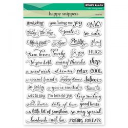 Penny Black Happy Snippets Stamp Set