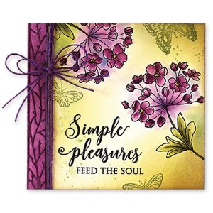 Penny Black Fragrant Flowers Stamp Set class=