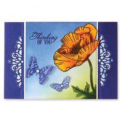 Penny Black Fragrant Flowers Stamp Set