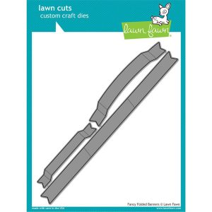 Lawn Fawn Fancy Folded Banners Lawn Cuts