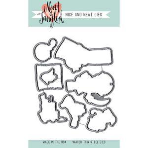 Neat & Tangled Yo Ho Ho Die Set