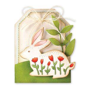 Penny Black Bunny Rabbit Die class=