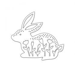 Penny Black Bunny Rabbit Die