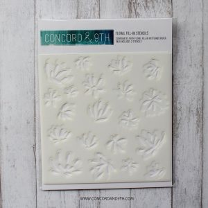 Concord & 9th Floral Fill-In Stencils class=