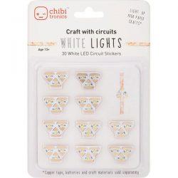Chibitronics White LEDs MegaPack