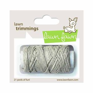 Lawn Fawn Trimmings Hemp Single Cord - Natural