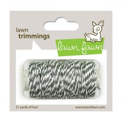 Lawn Fawn Trimmings Hemp Cord - Cloudy