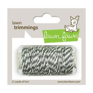 Lawn Fawn Trimmings Hemp Cord - Cloudy