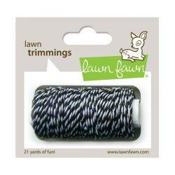 Lawn Fawn Trimmings Hemp Cord - Black Tie