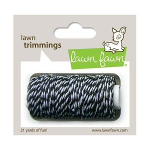Lawn Fawn Trimmings Hemp Cord - Black Tie