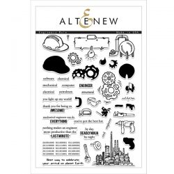 Altenew Engineers Rule Stamp Set