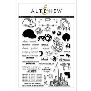 Altenew Engineers Rule Stamp Set