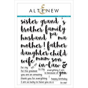 Altenew Family Matters Stamp Set