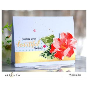 Altenew Perennial Beauty Stamp Set class=