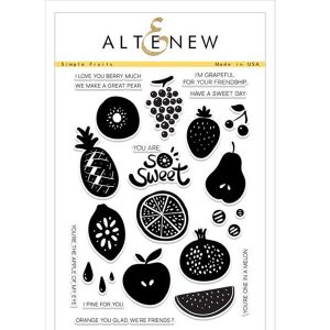Altenew Simple Fruits Stamp Set