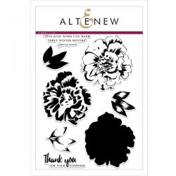 Altenew Build A Flower: Camellia stamp and die set