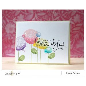 Altenew Simple Flowers Stamp Set class=