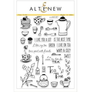 Altenew Tea Time Stamp Set