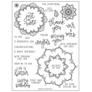 Concord & 9th Many Mandalas Stamp Set