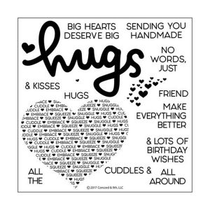 Concord & 9th Cuddles & Hugs Stamp Set