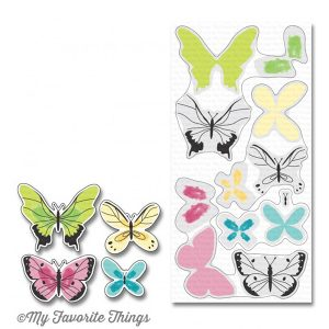 My Favorite Things Beautiful Butterflies Stamp Set class=