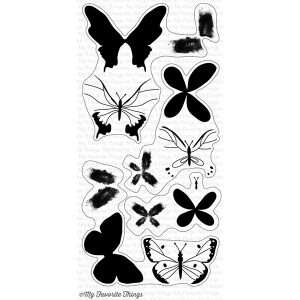 My Favorite Things Beautiful Butterflies Stamp Set