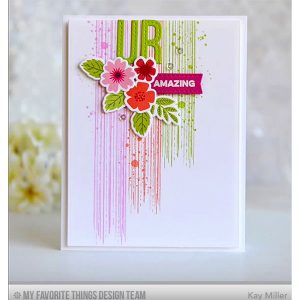 My Favorite Things Distressed Patterns Stamp Set class=