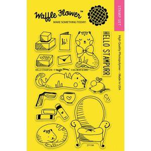 Waffle Flower Hello Stampurr Stamp Set