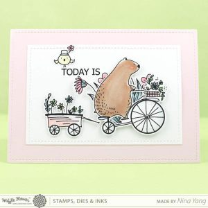 Waffle Flower Happy Day Stamp Set class=