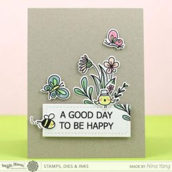 Waffle Flower Happy Day Stamp Set