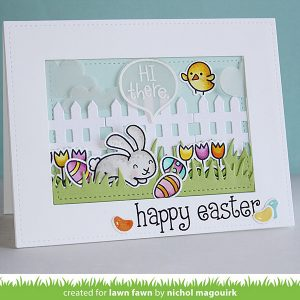 Lawn Fawn Happy Easter Stamp Set class=