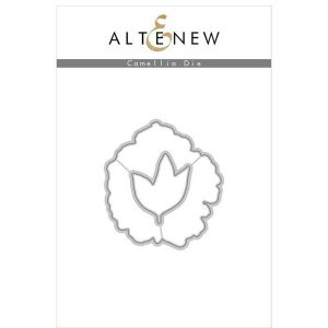 Altenew Build A Flower: Camellia stamp and die set class=