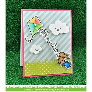 Lawn Fawn Simple Puffy Clouds Lawn Cuts class=