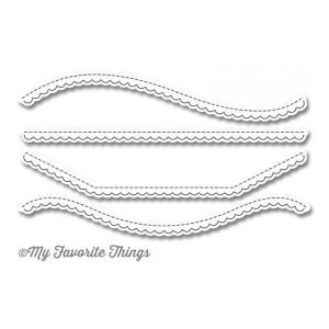 My Favorite Things Die-namics Stitched Scallop Basic Edges 2