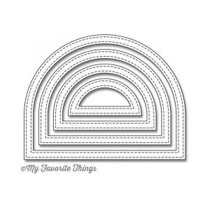 My Favorite Things Die-namics Stitched Dome Frames