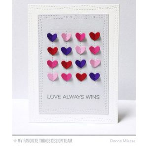 My Favorite Things Die-namics Stitched Heart Grid class=
