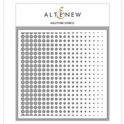 Altenew Halftone Stencil