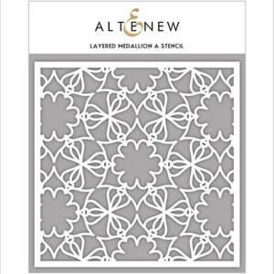 Altenew Layered Medallion A Stencil