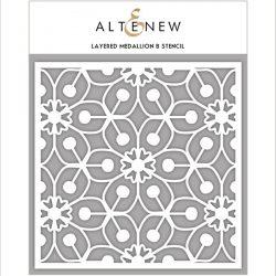 Altenew Layered Medallion B Stencil