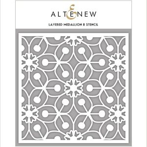Altenew Layered Medallion B Stencil