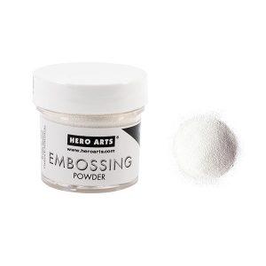 Hero Arts Embossing Powder – White Puff