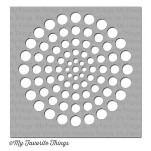 My Favorite Things Circle Burst Stencil