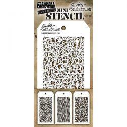 Tim Holtz Mini Layering Stencil, Set #26