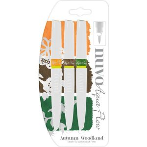 Nuvo Aqua Flow Pens – Autumn Woodland class=