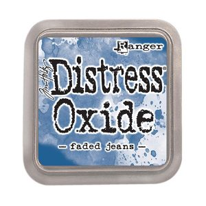 Tim Holtz Distress Oxide Ink Pad - Faded Jeans class=