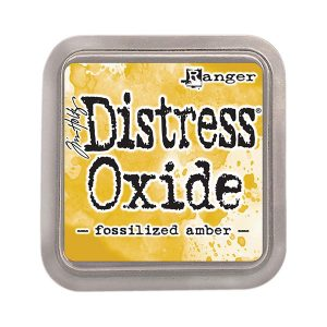 Tim Holtz Distress Oxide Ink Pad - Fossilized Amber class=
