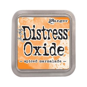 Tim Holtz Distress Oxide Ink Pad – Spiced Marmalade