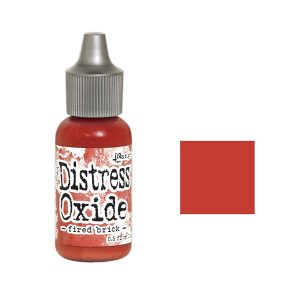 Tim Holtz Distress Oxide Reinker - Fired Brick class=