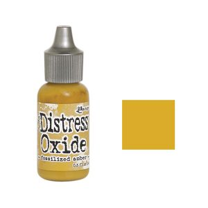 Tim Holtz Distress Oxide Reinker - Fossilized Amber class=