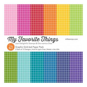 My Favorite Things Graphic Grid Paper Pack